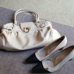 Ferragamo SET  bag & shoes 9B